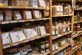 Verger de Kerbellec à Brech, agriculture raisonnée pommes, poires, épicerie, boucherie-charcuterie, vente directe, circuit-court
